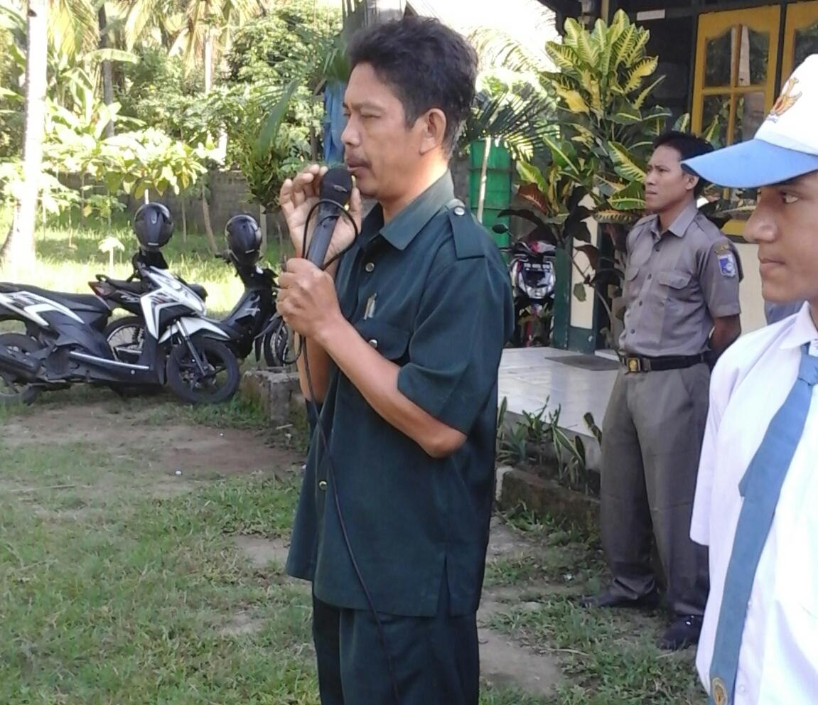 Kunjungan KPU ke SMK Babussalam